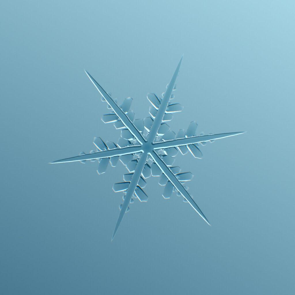 Screenshot of a snowflake